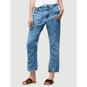 Frame Le Rouche Crop Jeans in Harpden